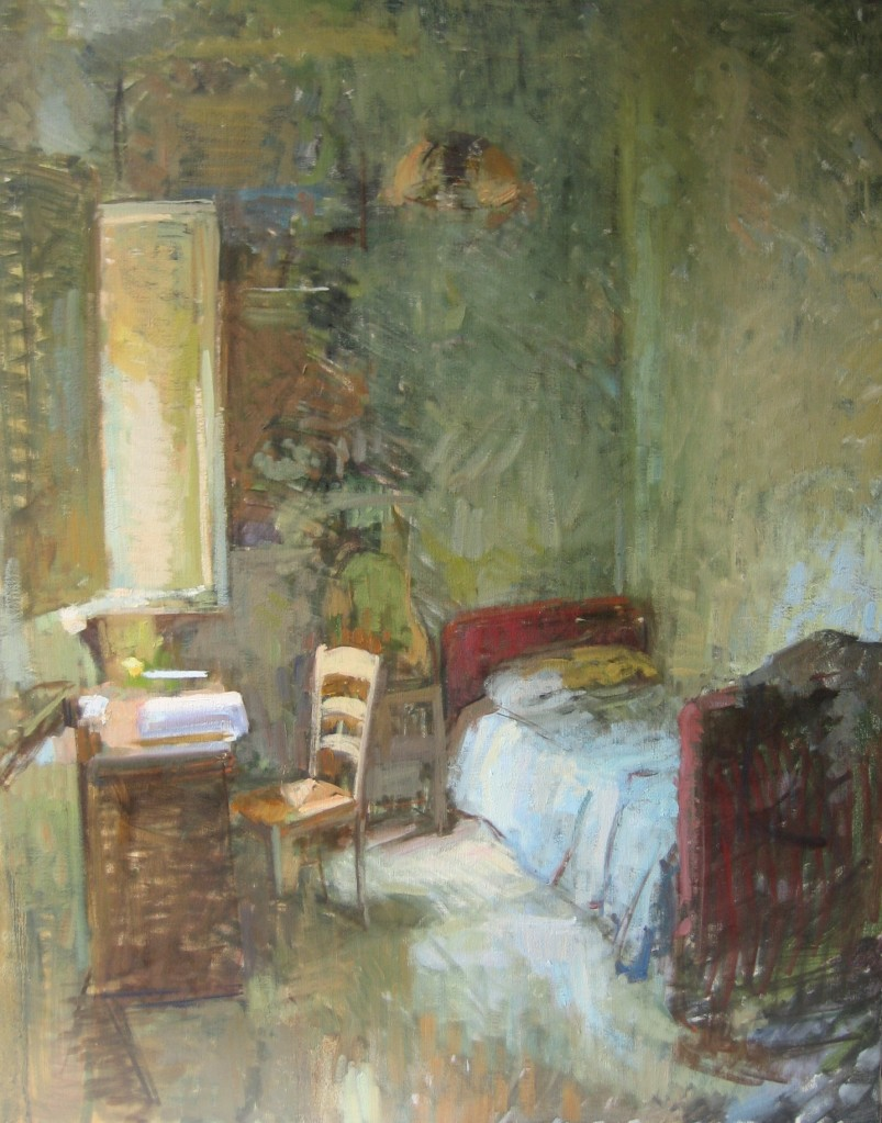 My Room 32x40 inches, oil on canvas