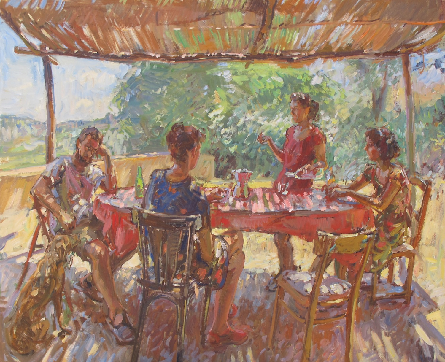 Lunch_Table_Ben_Fenske_39.4x47.2_Oil_2015_1438292234